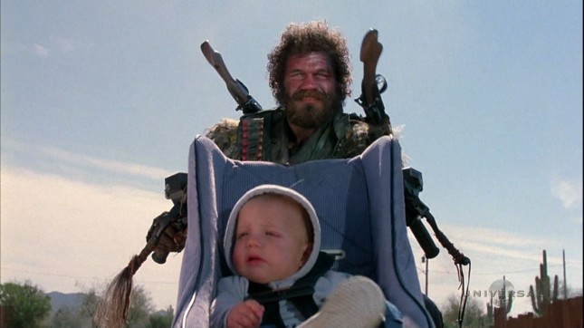 Randall Tex Cobb in Raising Arizona, copyright somebody else. Please don't sue me.